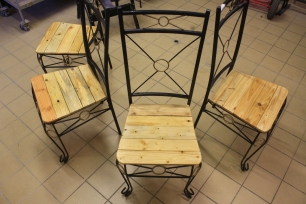 lot chaises upcycling