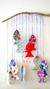 poissons davril upcycling
