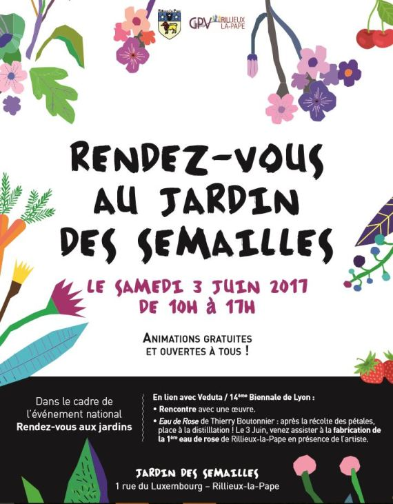 affiche 3 juin jardin des semailles
