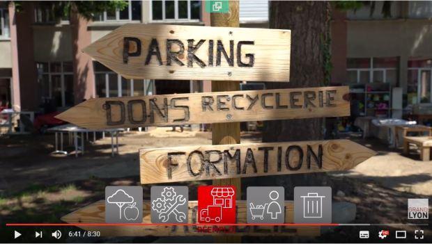vidéo recyclerie métropole